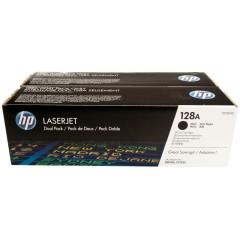 Originální tonery HP 128A, HP CE320AD (Černý) multipack