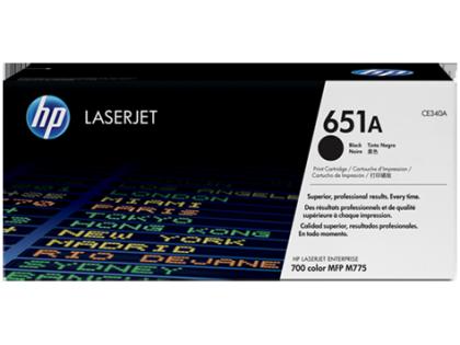 Originální toner HP 651A, HP CE340A (Černý)