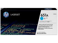 Toner do tiskárny Originální toner HP 651A, HP CE341A (Azurový)