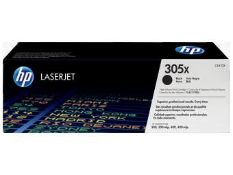 Originální toner HP 305X, HP CE410X (Černý)