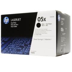 Originální tonery HP 05X, HP CE505XD (Černý) multipack