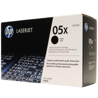 Originální toner HP 05X, HP CE505X (Černý)