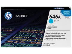 Toner do tiskárny Originální toner HP 646A, HP CF031A (Azurový)