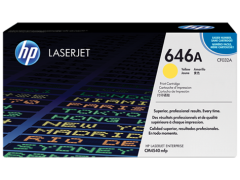 Toner do tiskárny Originální toner HP 646A, HP CF032A (Žlutý)