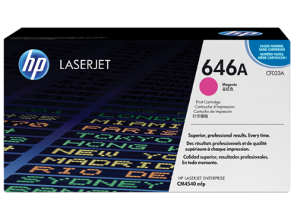 Originální toner HP 646A, HP CF033A (Purpurový)