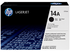Toner do tiskárny Originální toner HP 14A, HP CF214A (Černý)
