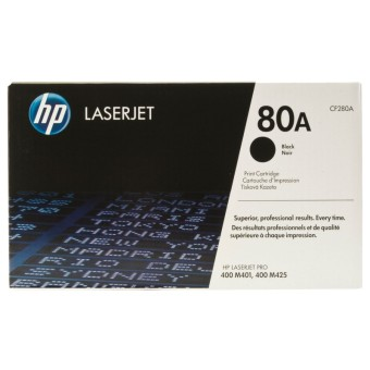 Originální toner HP 80A, HP CF280A (Černý)
