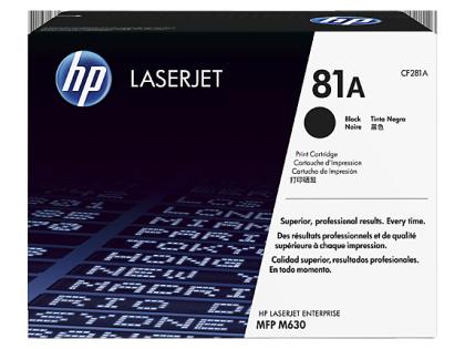 Originální toner HP 81A, HP CF281A (Černý)