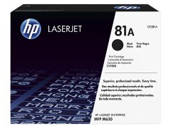 Toner do tiskárny Originální toner HP 81A, HP CF281A (Černý)