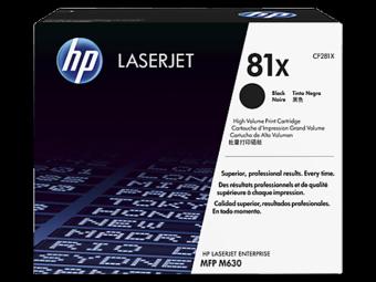 Originální toner HP 81X, HP CF281X (Černý)