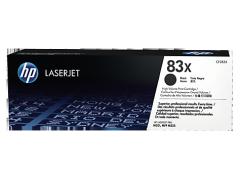 Toner do tiskárny Originální toner HP 83X, HP CF283X (Černý)