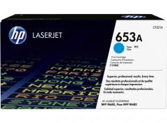 Toner do tiskárny Originální toner HP 653A, HP CF321A (Azurový)