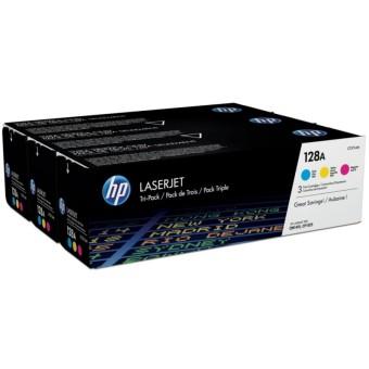 Originální tonery HP 128A, HP CF371AM (Barevné) multipack