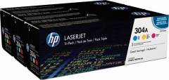 Cartridge do tiskárny Originální tonery HP 304A, HP CF372AM (Barevné) multipack