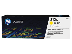 Toner do tiskárny Originální toner HP 312A, HP CF382A (Žlutý)