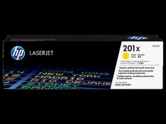 Toner do tiskárny Originální toner HP 201X, HP CF402X (Žlutý)