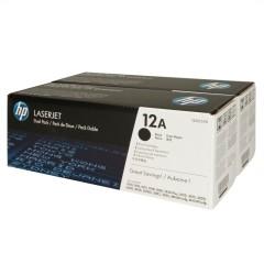 Originální tonery HP 12A, HP Q2612AD (Černý) multipack