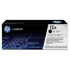 Toner do tiskárny Originální toner HP 12A, HP Q2612A (Černý)