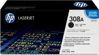 Originální toner HP 308A, HP Q2670A (Černý)
