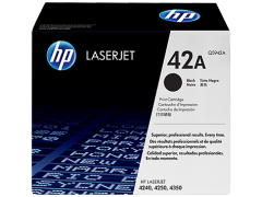 Toner do tiskárny Originální toner HP 42A, HP Q5942A (Černý)