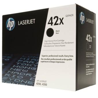 Originální toner HP 42X, HP Q5942X (Černý)