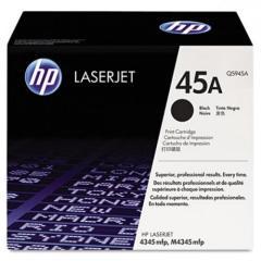 Toner do tiskárny Originální toner HP 45A, HP Q5945A (Černý)
