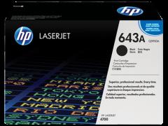 Toner do tiskárny Originální toner HP 643A, HP Q5950A (Černý)