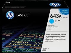 Toner do tiskárny Originální toner HP 643A, HP Q5951A (Azurový)