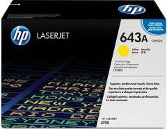 Toner do tiskárny Originální toner HP 643A, HP Q5952A (Žlutý)