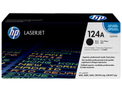 Toner do tiskárny Originální toner HP 124A, HP Q6000A (Černý)