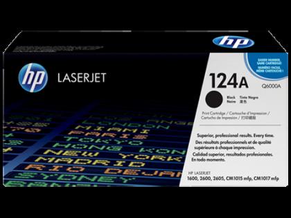 Originální toner HP 124A, HP Q6000A (Černý)