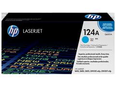 Toner do tiskárny Originální toner HP 124A, HP Q6001A (Azurový)