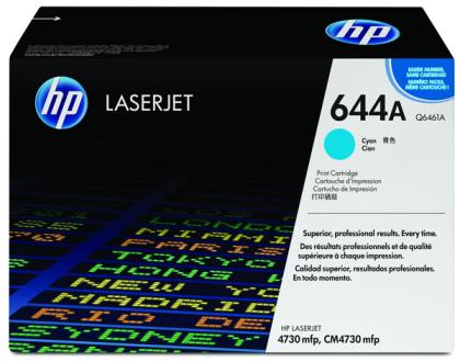 Originální toner HP 644A, HP Q6461A (Azurový)