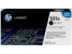Toner do tiskárny Originální toner HP 501A, HP Q6470A (Černý)
