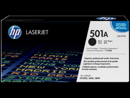 Originální toner HP 501A, HP Q6470A (Černý)