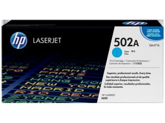 Originální toner HP 502A, HP Q6471A (Azurový)