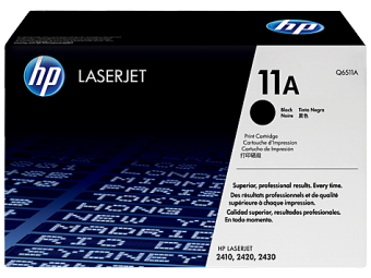 Originální toner HP 11A, HP Q6511A (Černý)