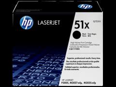 Toner do tiskárny Originální toner HP 51X, HP Q7551X (Černý)