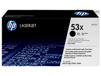 Originální toner HP 53X, HP Q7553X (Černý)