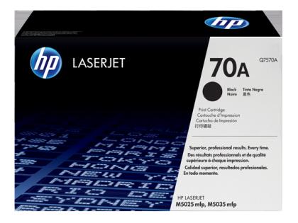 Originální toner HP 70A, HP Q7570A (Černý)