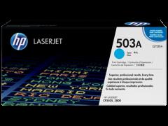 Toner do tiskárny Originální toner HP 503A, HP Q7581A (Azurový)