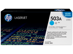 Cartridge do tiskárny Originální toner HP 503A, HP Q7581A (Azurový)