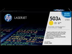 Toner do tiskárny Originální toner HP 503A, HP Q7582A (Žlutý)