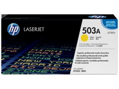 Cartridge do tiskárny Originální toner HP 503A, HP Q7582A (Žlutý)