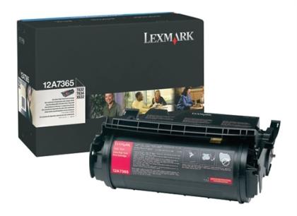 Originální toner Lexmark 12A7365 (Černý)