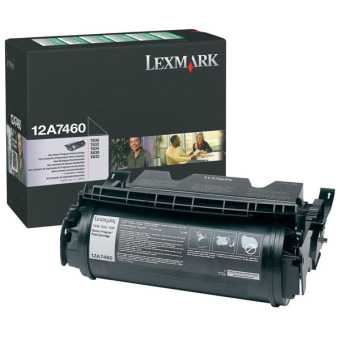 Originální toner Lexmark 12A7460 (Černý)