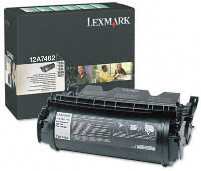 Originální toner Lexmark 12A7462 (Černý)