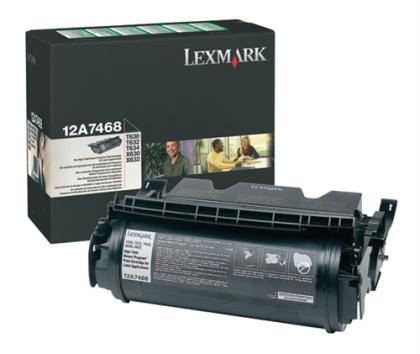 Originální toner Lexmark 12A7468 (Černý)
