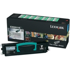 Toner do tiskárny Originální toner Lexmark E352H11E (Černý)