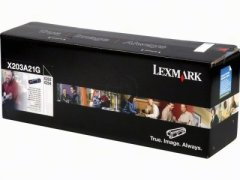 Toner do tiskárny Originální toner Lexmark X203A21G (Černý)